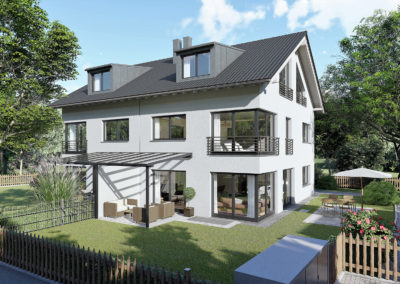 Krailling Bergstraße Wohnhaus