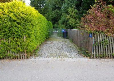 Muehlstr. 38, Gauting - Zufahrt zum Hinterliegergrundstück