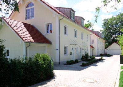 Gräfelfing, Radlbäckstr., Einfahrt