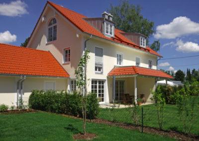 Gräfelfing, Radlbäckstr., Garten